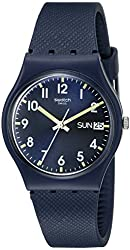 Swatch Unisex GN718 Originals Navy Blue Watch