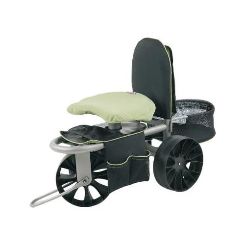 deluxe garden scooter cart xtv gardening