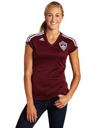 MLS Colorado Rapids Ladies Replica Home Jersey by adidas