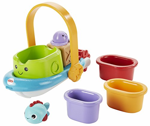 Fisher-Price Stackin' Tubtime Boat - 1