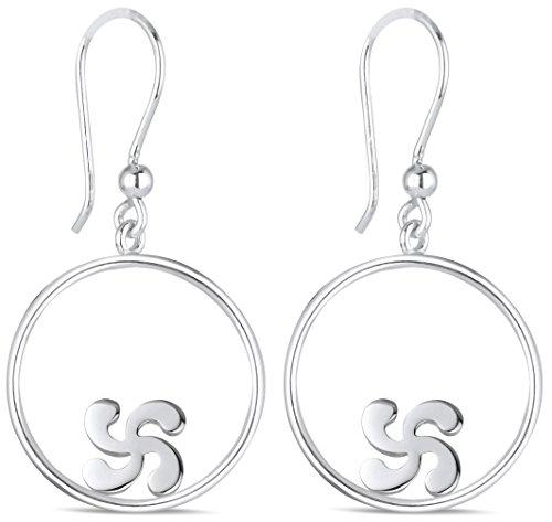 Adens-Jewels-Bijoux-Basques-Croix-Basque-Boucles-doreille-Cercle-Argent-Femme