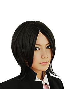 Taobao Building Black Butler Kuroshitsuji Sebastian Michaelis Black Hair Cosplay Wig Anime Show Costumes Party Wigs