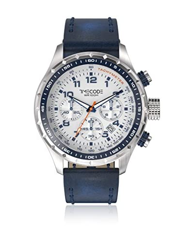 Timecode Reloj de cuarzo Man Tc-1011-13 Azul Oscuro 49 mm