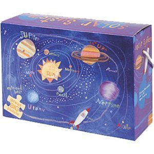 Cheap Galison Solar System 24pc Floor Puzzle (735306540)