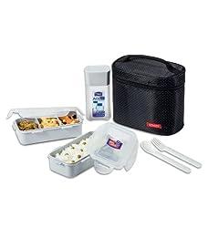 Lock&Lock Lunch Box, 3 - Pieces, Black