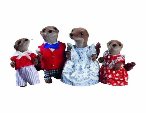 Sylvanian Families Otter FamilyB0000AC924