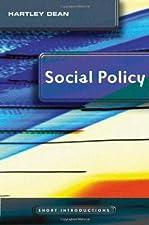 Social Policy by Hartley Dean