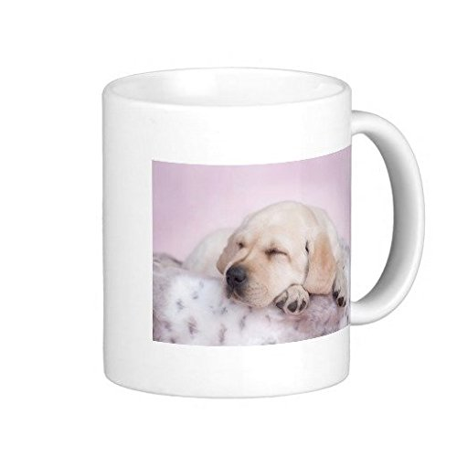 Yellow Labrador Retriever Puppy Coffee Mug 11 OZ