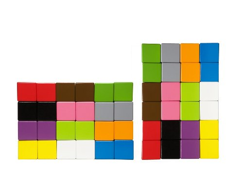 KID O Colored Cubes