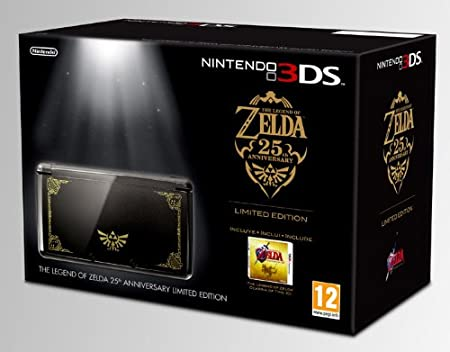 Nintendo 3DS - Console + The Legend Of Zelda: 25 Anniversary - Limited Edition