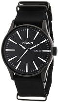Nixon A027-2148 Mens Sentry All Black Watch