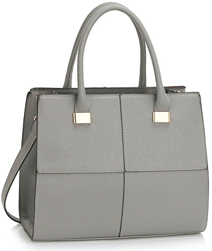 ladies-womens-fashion-designer-large-size-quality-chic-tote-bags-handbags-cws00153l-cws00153m-grey