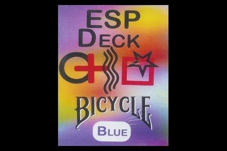 Jeu Bicycle ESP à dos Bleu