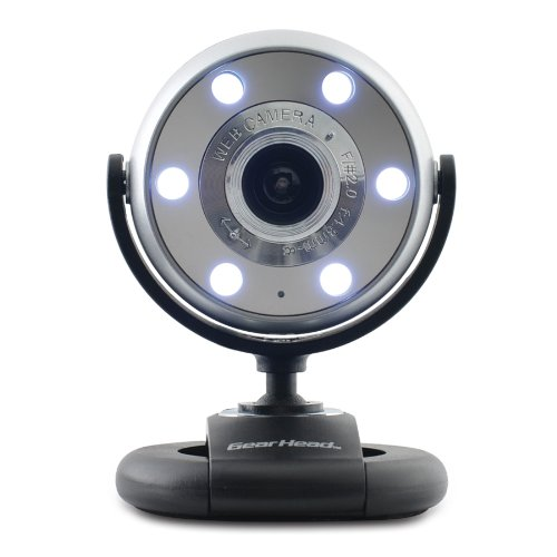 Gear Head 1.3 MP WebCam for Mac (Night Vision) (USB 2.0 + UVC) (WC1500MAC)