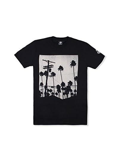 SEVENTYSEVEN T-Shirt Electric Palms schwarz