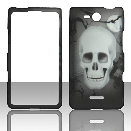 2D New Skull LG Lucid 4G LTE VS840 Verizon Case Cover Phone Snap on Cover Case Faceplates (Verizon Lg Lucid 4g compare prices)