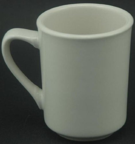 Oneida Rego 8 Oz Coffee Mug White Set of 6 - R4140000560 (Oneida Coffee Cup compare prices)