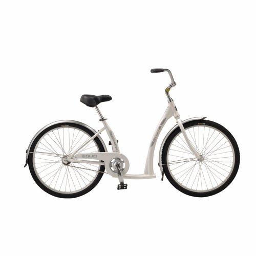 SUN BICYCLES BIKE SUN STREAMWAY ALY 26 CB PRL WHT 09