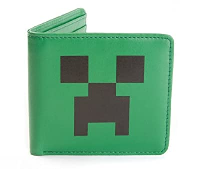 Jinx Men's Minecraft Creeper Face Wallet