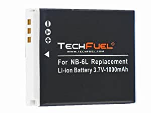 Canon PowerShot S90 Digital Camera Replacement Battery - TechFuel Professional NB-6L Battery