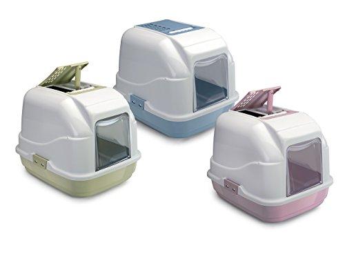 toilette-per-gatti-porta-lettiera-con-filtro-easy-cat-50x40x40h