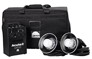 Profoto 910696 Acute2 2400 Value Pack with Case (Black)