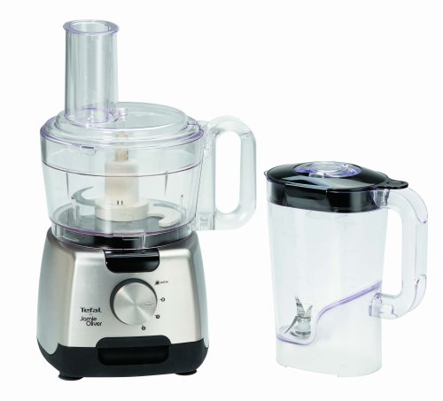 tefal jamie oliver 750 watts food processor just kitchenware. Black Bedroom Furniture Sets. Home Design Ideas