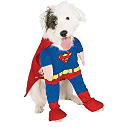 Superman Deluxe Pet Costume - X-Large - Pet Costumes