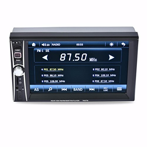 Naladoo 6.6 Inch HD Double Din Car Radio Audio Stereo 800x480 Navigation (Shark Navigation Lift Away Dlx compare prices)