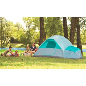 Coleman® Fast PitchTM 7-Person Dome Tent with Annex, 6 ft. center height (Coleman Instant Dome 7 compare prices)