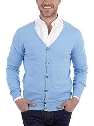BLUE COAST YACHTING Chaqueta Punto (Azul Claro)