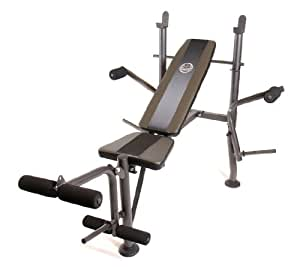 Cap Barbell FM-6230B Muscle Inc Standard Bench with Butterfly Attachment