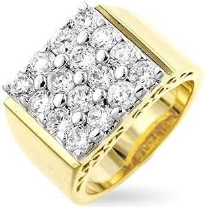 14K 14kt Beverly Hills Gold Starburst Tennis Bracelet
