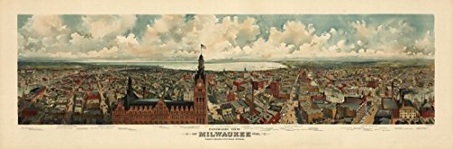 old-map-of-milwaukee-wisconsin-1898-milwaukee-county-artistica-di-stampa-6096-x-9144-cm