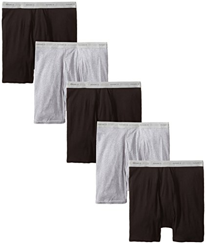 Hanes Men's 5 Pack Boxer Brief