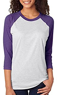 Next Level Unisex Tri-Blend 3/4-Sleeve Raglan – 6051