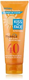 Kiss My Face Natural Mineral Lotion Sunscreen SPF 40 with