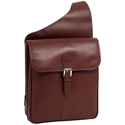 Siamod-Sabotino-Leather-Sling-Messenger-Bag-in-Brown