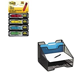 KITMMM684SHROL1742322 - Value Kit - Rolodex Combination Sorter (ROL1742322) and Post-it Arrow Message 1/2amp;quot; Flags (MMM684SH)