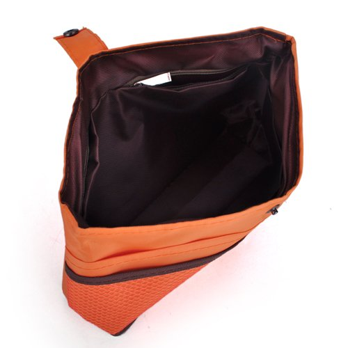 Purse Insert Organizer, Double-Sided Handbag Organizer - Orange