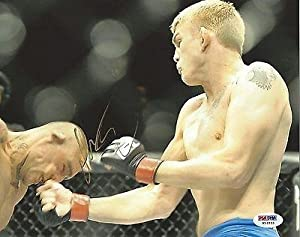Alexander Gustafsson Signed UFC 8x10 Photo COA Picture Autograph 165 133 - PSA/DNA Certified - Autographed UFC Photos