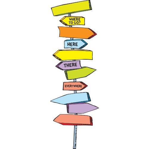 Dr. Seuss Blank Street Signs Mini Bulletin Set