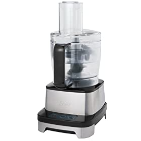 Oster FPSTFP4600 Professional Stainless-Steel 10-Cup Food Processor with In-Bowl Storage