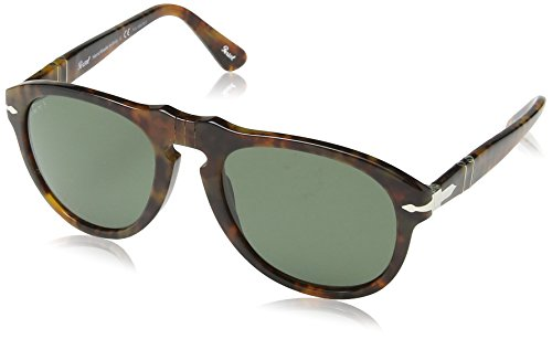 Persol 0649 108/58 Havana 649 Oval Sunglasses Polarised Lens Category 3