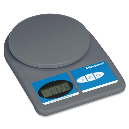 Electronic Weight-Only Utility Scale, 11lb Capacity, 5-3/4 Platform