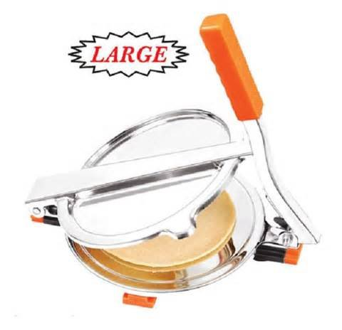 Atop Arrison Atop Stainless Steel Poori Maker, 6.5 Inch Roti Maker