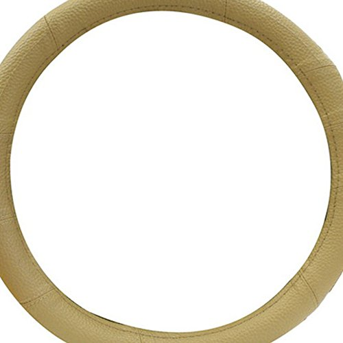 Pilot SW-224T Tan Leather Sport Steering Wheel Cover
