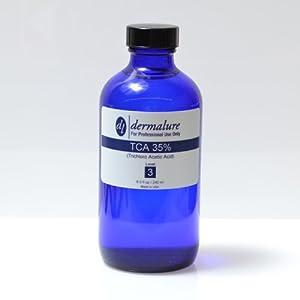 Trichloro Acetic Acid - TCA Peel 35% 8oz. 240ml Pro Sizel (Level 3 pH 0.9) from Dermalure