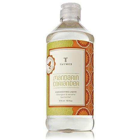 Thymes Mandarin Coriander Dishwashing Liquid - Oz. Natural Body Hand 0510720100 (Dishwashing Liquid Grapefruit compare prices)