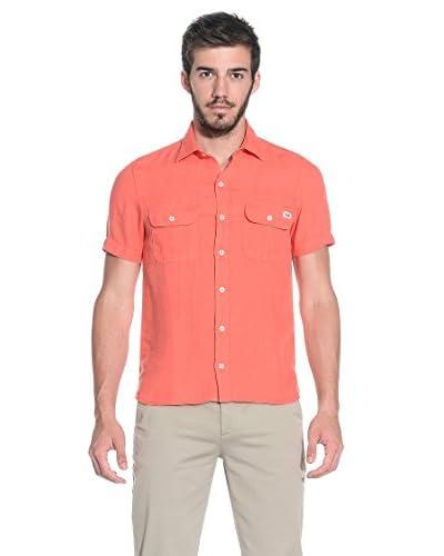Slam Camisa Hombre Glebe Coral